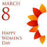 Happy womens day Stock Images
