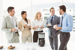 Happy work team during break time Royalty Free Stock Photo