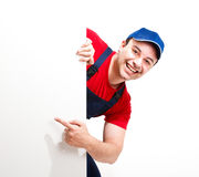 Happy worker Royalty Free Stock Photography