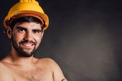 Happy worker Stock Photography
