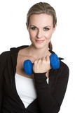 Happy Workout Woman Stock Images