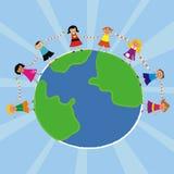 Happy world Royalty Free Stock Image