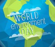 Happy world environment day card. Vector. Concept vector illustration