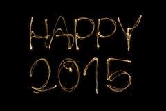 Happy 2015 Stock Images