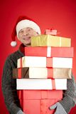 Happy xmas Stock Photo
