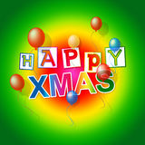 Happy Xmas Shows New Year And Festive Royalty Free Stock Photography