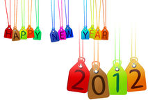 Happy year 2012 Stock Photography