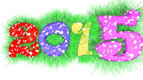 Happy year 2015 Stock Image
