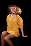 Happy yellow Royalty Free Stock Photos