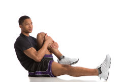 Happy Young African American Male Workout Royalty Free Stock Photos