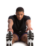 Happy Young African American Male Workout Stock Images