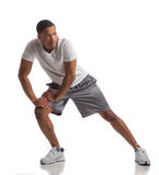 Happy Young African American Male Workout Royalty Free Stock Photo