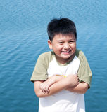 Happy Young Asian Boy Stock Photos