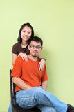 Asian couples Royalty Free Stock Image