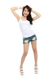 Happy young asian girl Stock Photo