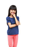 Happy young asian girl Stock Images