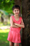 Happy young asian girl Royalty Free Stock Image