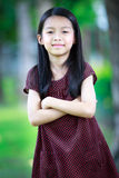 Happy young asian girl Royalty Free Stock Photography