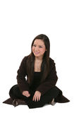 Happy young Asian woman Royalty Free Stock Images
