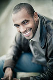 Happy young black man Royalty Free Stock Photography