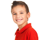 Happy young boy Stock Photos