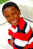 Happy young boy smiling royalty free stock photos