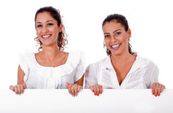 Happy young business colleagues Stock Image