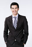 Happy young businessman Royalty Free Stock Image