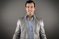 Happy young businessman. Image of a young professional smiling Stock Images