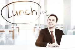 Hungry concept Royalty Free Stock Photography