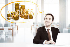 Income concept Royalty Free Stock Images