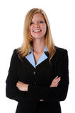 Happy young businesswoman Stock Images