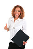 Happy Young Businesswoman Portrait Royalty Free Stock Photography