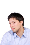 Happy young casual man portrait Royalty Free Stock Image