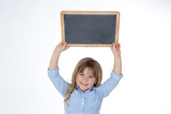 Happy young child at school Stock Photography