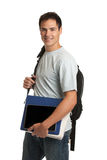 Happy Young College Student Holding Tablet Royalty Free Stock Photo
