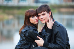 Happy young couple. Royalty Free Stock Photography