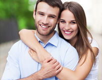 Free Happy Young Couple Royalty Free Stock Images - 42195989