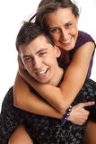 Happy Young couple Stock Images