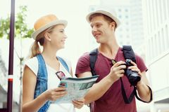 New places to explore Stock Photography