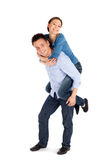 Happy Young Couple Having Fun Royalty Free Stock Image
