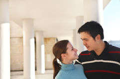 Happy young couple in love Stock Image