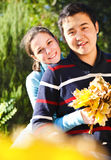 Happy young couple in love Royalty Free Stock Photography