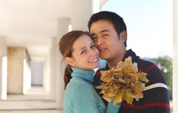 Happy young couple in love Royalty Free Stock Image