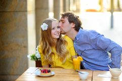 Happy young couplein Stock Photography