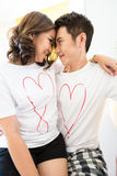 Young Couples Stock Image