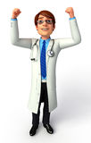 Happy Young Doctor Royalty Free Stock Images