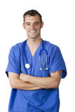 Happy young doctor Stock Images