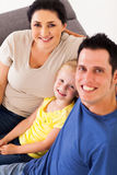 Happy young family Royalty Free Stock Image