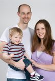 Happy Young Family Royalty Free Stock Photography